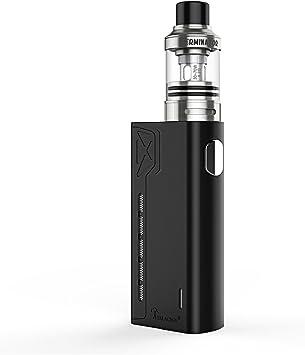 Teslacigs X E-Cig Vape Caja Mod 90W Enorme Potencia Vapor Vaping E-Cigarrillo Vaporizador 2A Rápida Carga de Cigarrillo Electrónico Compatible a 0.2ohm, No 18650 Batería Incluida No Nicotina (Black): Amazon.es: Salud y