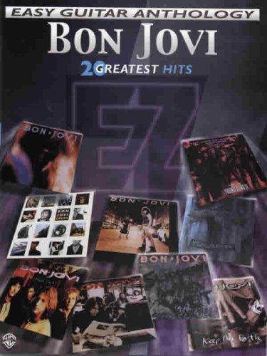 Download Bon Jovi -- Easy Guitar Anthology: 20 Greatest Hits (Easy (EZ) Guitar Anthology) pdf
