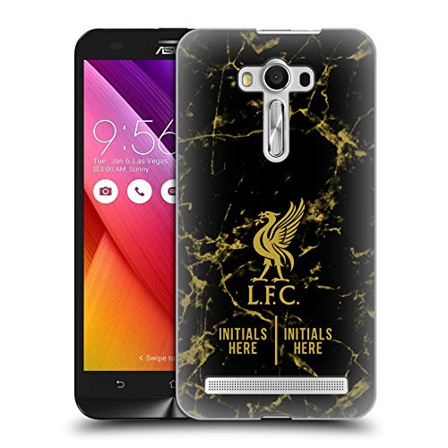Custom Customized Personalized Liverpool Football Club Black Marble 2018/19 Hard Back Case Compatible for Zenfone 2 Laser ZE550KL
