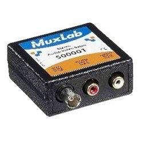 Muxlab 500001 STEREO AUDIO + BNC VIDEO BALUN ()