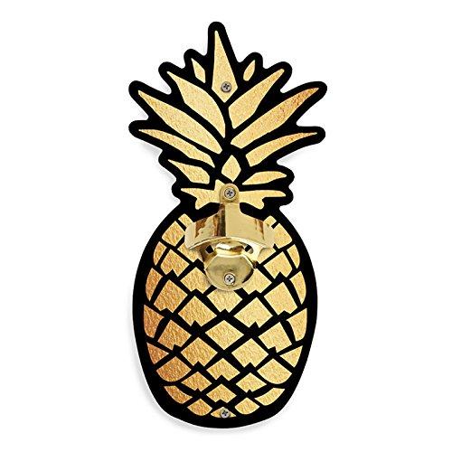 Pineapple Wild Eye Designs Wall Mounted Bottle Opener