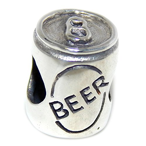 Beer Silver Sterling (Solid 925 Sterling Silver