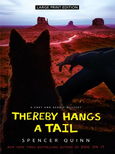Download Thereby Hangs a Tail (Thorndike Press Large Print Mystery Series: Chet and Bernie Mysteries) pdf