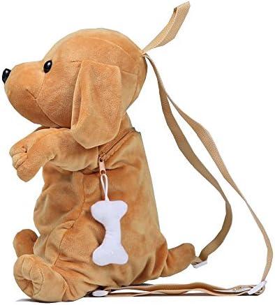 [해외]TOKYO-T Plush Backpack for Toddler Girls Boys Dog Bag Cute Fluffy Puppy Animal / TOKYO-T Plush Backpack for Kids Girls Dog Bag Cute Animal (Brown)