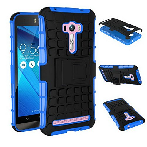 Slim Armor Case for Asus Zenfone 2 Selfie ZD551KL (Black) - 1