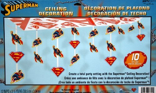 Superman Ceiling Decoration