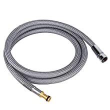 """Anchorfield 60"""" Strong Nylon Finish Universal Replacement Hose kit for Moen # 159560 Pullout Pull Out Kitchen Faucets"""