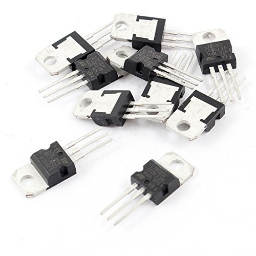 10 Pcs TO-220 Package 7812/L7812CV/ L7812/ LM7812 1.5A 12V Positive Voltage Regulators