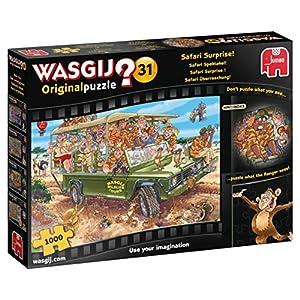 Wasgij 19164 Puzzle Originale 31 Safari Surprise 1000 Pezzi Multicolore