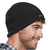 Search : lethmik Fleece Lined Beanie Hat Mens Winter Solid Color Warm Knit Ski Skull Cap