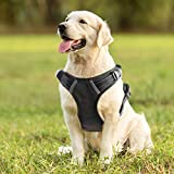 PawShoppie No Pull Adjustable Pet Reflective Oxford Soft Vest for Large Dogs Easy Control Harness