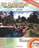 3D GartenWelt 2.1, 1 CD-ROM Der Gartenplaner. Planen und entwerfen Sie Ihren Garten in 2D und 3D. Für Windows 95/98/ME/2000/XP. Mit großer Pflanzen-Datenbank mit 7000 Einträgen