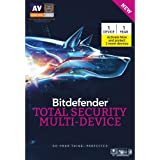 BitDefender Total Security - 1 Device, 1 Year (Buy 1 device Get 2 Devices Free) (Multi Device) Windows, Mac, Android (Activation Key) (Voucher)