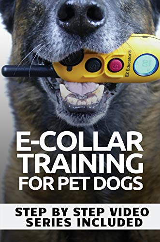 E-COLLAR TRAINING for Pet Dogs: The only resource you'll need to train your dog with the aid of an electric training collar (Dog Training for Pet Dogs Book ()
