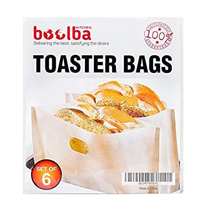 Bolsas para tostadora (paquete de 6) | Perfecto para un ...
