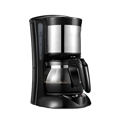 Máquina de café de Filtro, cafetera de Filtro de un Solo botón, Filtro extraíble