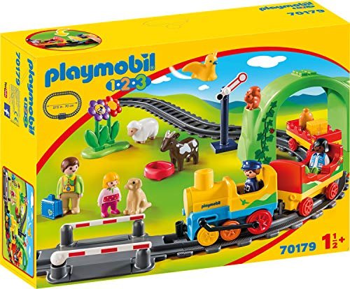 PLAYMOBIL® 70179 1.2.3 My First Railway Colourful