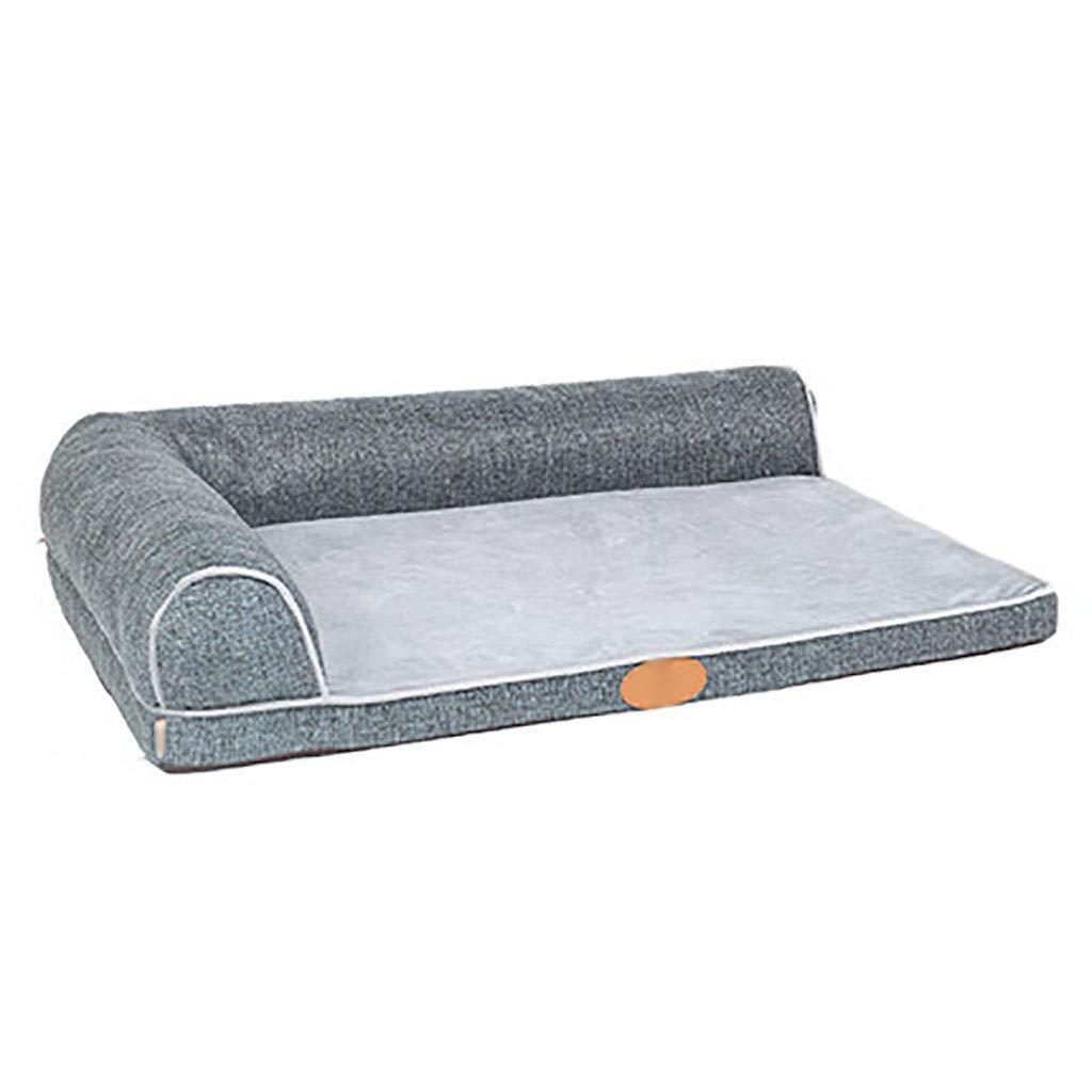 B 8968Pet house Cat nest kennel Medium dog Large dog Pet mat pet nest Pet bed Warm cosy Four seasons available (color   A, Size   70  50)