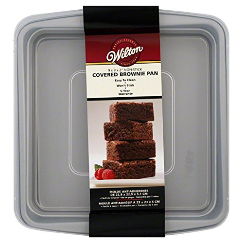 Wilton Recipe Right Square 9 by 9 Inch Covered Pan
