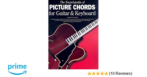 Amazon Encyclopedia Of Chords For Guitar Keyboard