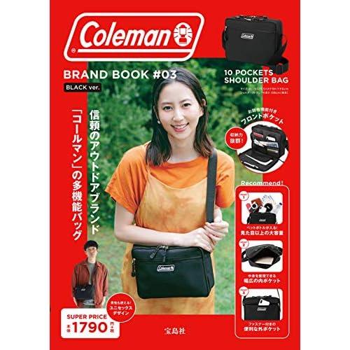 Coleman BRAND BOOK #03 BLACK ver. 画像