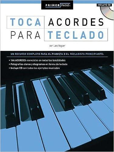 Primer Paso: Toca Acordes Para Teclado Step One Keyboard ...