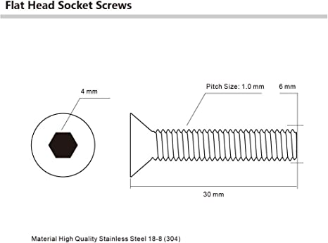 STR601M8X40 M6 x 1 x 40mm L Shoulder Screw Pack of 2