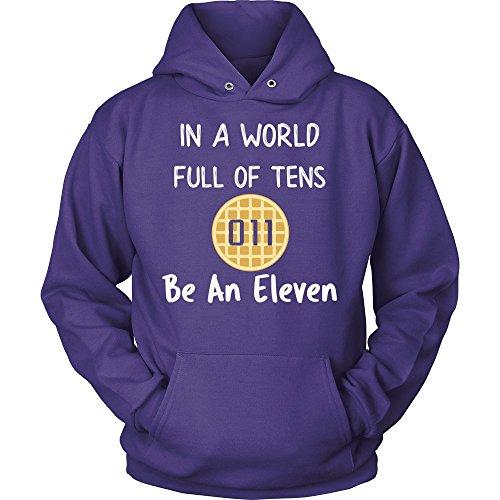80s Purple Vintage Sweater - 3