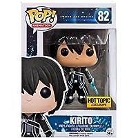 Funko - Figurine Sword Art Online - Kirito Clear Blue Exclu Pop 10cm - 0849803065799