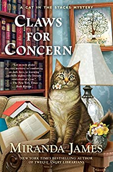 Claws for Concern (Cat in the Stacks Mystery) by [James, Miranda]