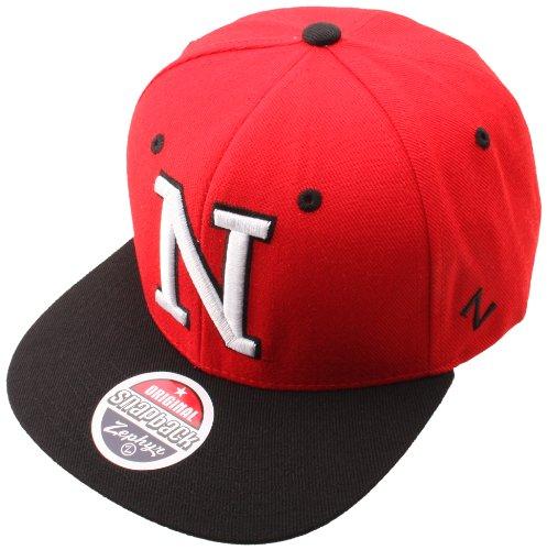 - NCAA Nebraska Cornhuskers Apex Snapback Hat, Scarlet