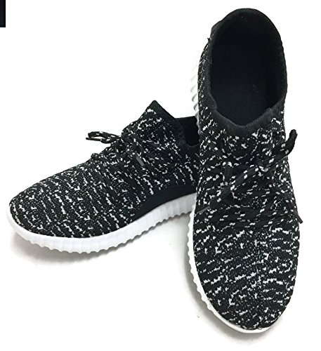 Black Jill Womens Breathable Shoes Mesh Fashion Casual The Athletic Collection Sneakers White vaSqqZ