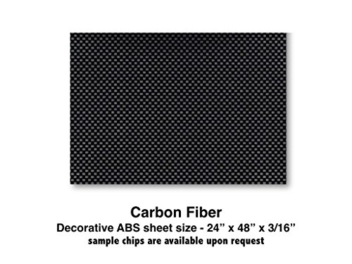 Carbon Fiber ABS Plastic Sheet for boat Instrument Panels 24