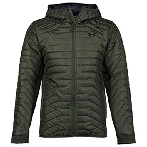 Mens Lightweight Hybrid Jacket - Under Armour ColdGear Reactor Hybrid Jacket - Men's