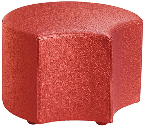 Logic Furniture MOONEFT18 Moon 4 Face Ottoman, 18'', Fire Truck by Logic Furniture