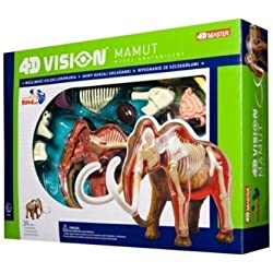 Tedco 4D Vision Woolly Mammoth Anatomy Model by TEDCO