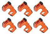 Wedge-It - The Ultimate Door Stop - Orange (6 Pack)