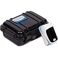 Niscomed Fingertip pulse oximeter with beep alarm and Spo2 with BOX