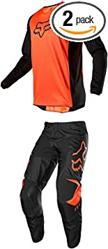 Cota Orange FOXHEAD Fox 180 Youth Motocross Mx Pants Jersey