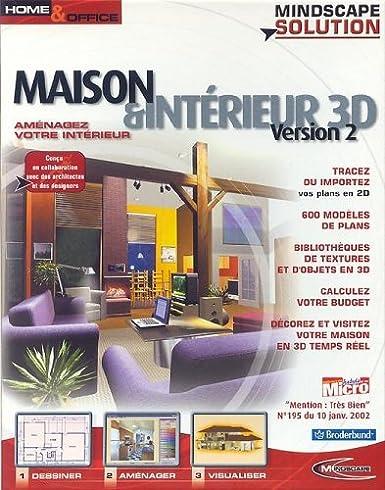 Maison et Intérieur 3D: Amazon.de: Software