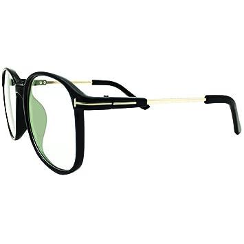 8cfe4837417 Lasree Oversize Reading Glasses +0.50 Lenses Mens Womens Readers Gloss  Black Frame Longsighted Spectacles