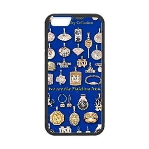Notre Dame Fighting Irish iPhone 6 Plus 5.5 Inch Cell Phone Case Black MSY186724AEW
