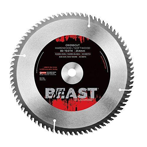 Lackmond Beast Crosscut Saw Blades - ATB Grind - 12
