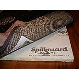 "Carpenter, 8'x10', 1/2"" Visco- Elastic Memory Foam, Spillguard DuPont Barrier Rug Pad"