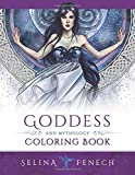 Goddess and Mythology Coloring Book (Fantasy Coloring by Selina) (Volume 9)