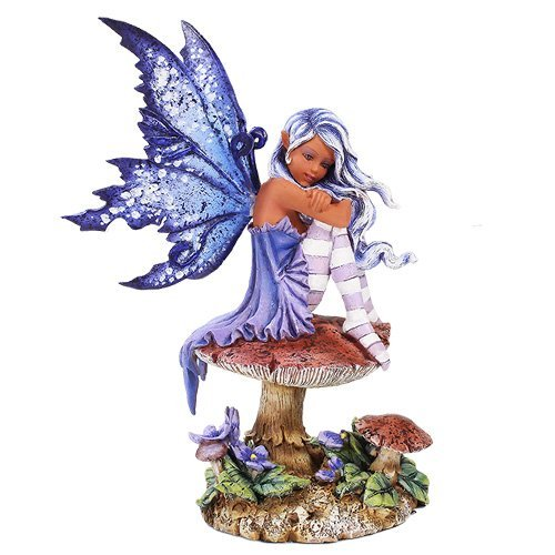 - Pacific Giftware Amy Brown Licensed Violet Fairy Statue Polyresin Figurine