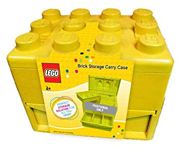 Superior Lego Carry Case (Yellow)