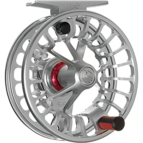 Redington RISE Fly Fishing Reel (Silver, 5/6) (Fly Fishing Redington)