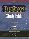 Thompson Chain-Reference Study Bible-NIV-Handy Size, , 0887075576