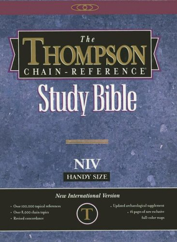 Thompson Chain-Reference Study Bible-NIV-Handy Size Navy/Blue pdf